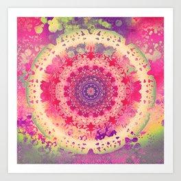 Anenome Mandala Art Print