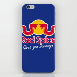 Red Spice iPhone Skin