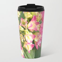 Hydrangea Blossoms Travel Mug