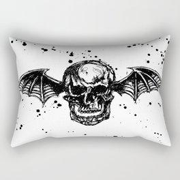 Deathbat Drawing Rectangular Pillow