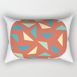 circular triangular Rectangular Pillow