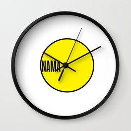 NAMA Project Wall Clock