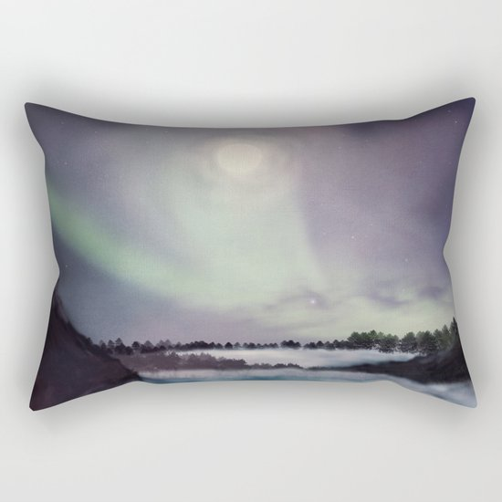 Winter inspiration Rectangular Pillow