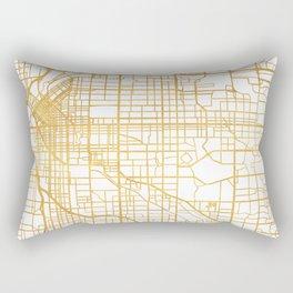 DENVER COLORADO CITY STREET MAP ART Rectangular Pillow