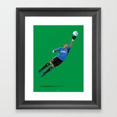 Nick Rimando - Goalkeeper Framed Art Print