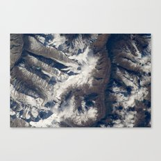 HIMALAYAS from International Space Station Canvas Print