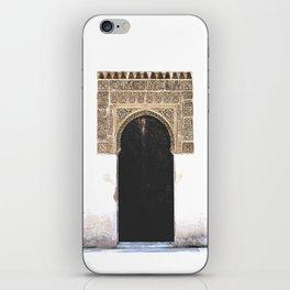 Alhambra Door iPhone Skin