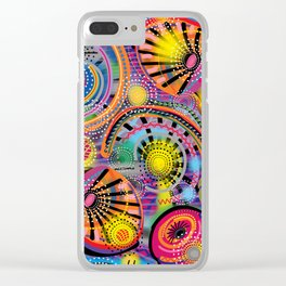 Biology of Lovers on a Rainy Night Clear iPhone Case