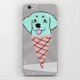 Dog Ice Cream iPhone Skin