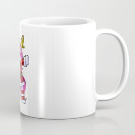 Santas Unicorn Dabbing Christmassy Costume Coffee Mug