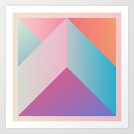Ultra Geometric Art Print