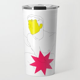 Sexy Male with a Star Travel Mug