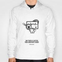sherlock holmes Hoodies featuring Sherlock Holmes by the curious brain