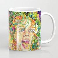 lsd Mugs featuring Eurydice in the Underworld (LSD) by reservenote