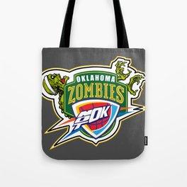 Zombie Sonics Tote Bag