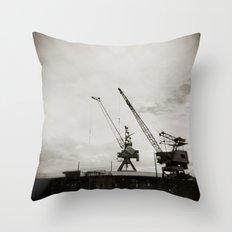 { dancing cranes } Throw Pillow