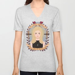 Our Lady of Protection Unisex V-Neck