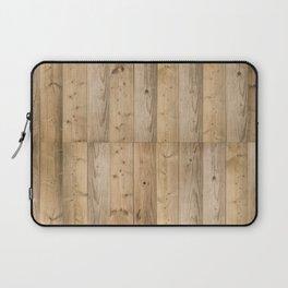 Wood Planks Light Laptop Sleeve