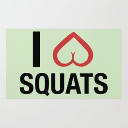 Squat Love Rug