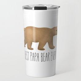 Best Papa Bear Ever Travel Mug