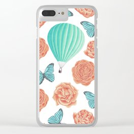 Fly Away With Me Clear iPhone Case
