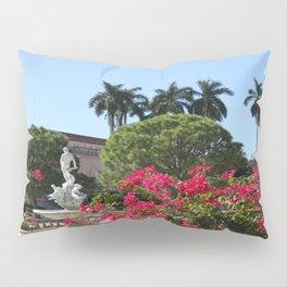 Bougainvillea Row Pillow Sham