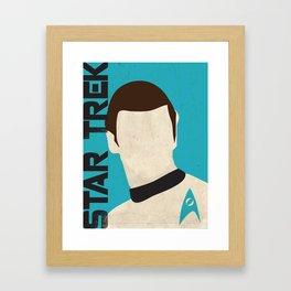 Star Trek Illustration -  Spock Framed Art Print
