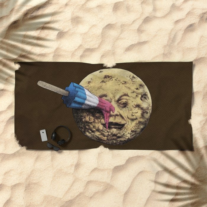 Summer Voyage Beach Towel