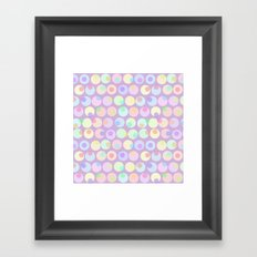 Pastel Abstracts 1 Framed Art Print