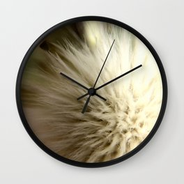 Poof Ball Wall Clock