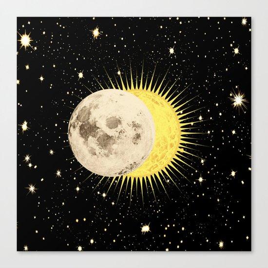 Imminent Eclipse Canvas Print