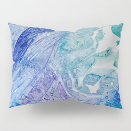 Water Scarab Fossil Under the Ocean, Environmental Pillow Sham