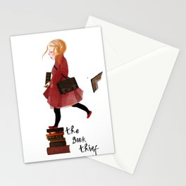 "Homage to ""The Book Thief"" Stationery Cards"