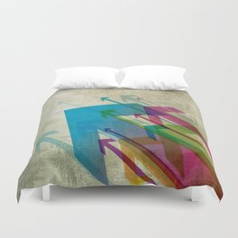 Keep on Moving Duvet Cover