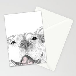 Whaddup :: A Pit Bull Smile Stationery Cards