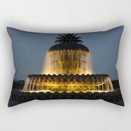 fountain lights Rectangular Pillow