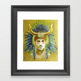 Theseus Framed Art Print