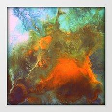 Fluid abstract art Canvas Print