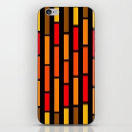 Red Orange and Yellow iPhone Skin