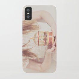 sweet nightingale iPhone Case