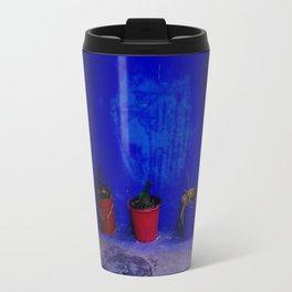 Colorful Pots in Morocco Travel Mug