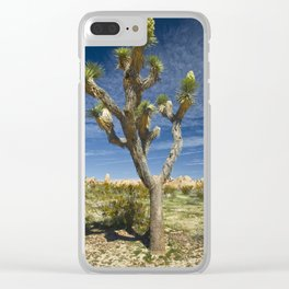 Joshua Tree in Joshua Tree National Park Clear iPhone Case