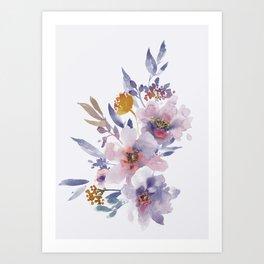 Flowers 8 Art Print