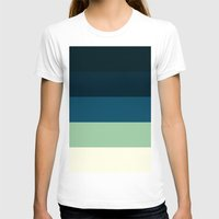 nautical T-shirts featuring Nautical Stripes by Simply Chic