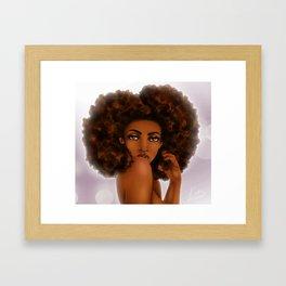 Natural Portrait Framed Art Print