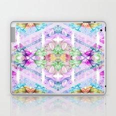 Wildflower kaleidoscope Laptop & iPad Skin