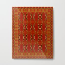 Influenza C Tapestry by Alhan Irwin Metal Print