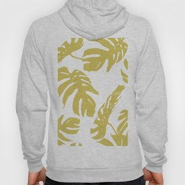 Simply Mod Yellow Palm Leaves Hoody