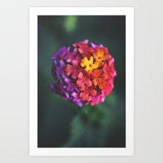 Spherical//Chromatic Art Print
