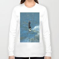 surfer Long Sleeve T-shirts featuring Surfer by Laake-Photos